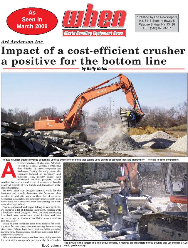 Impact of a cost-efficient crusher a positive for the bottom line