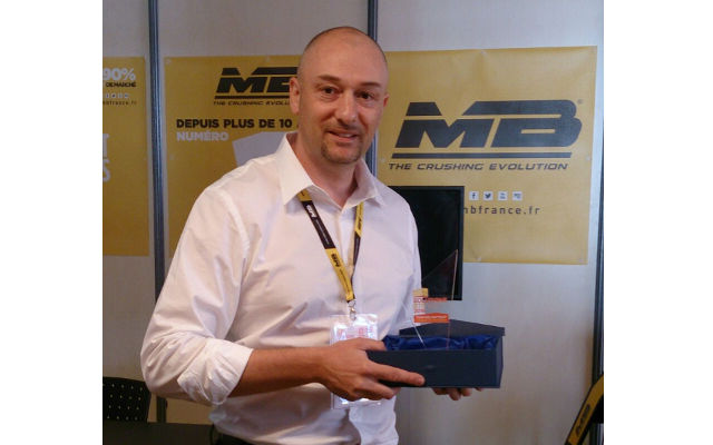 News - MB CRUSHER received the Septibat d'Or